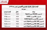 قیمت خودرو لکسوس در پایتخت +جدول