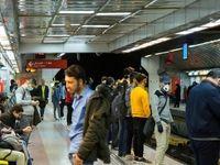 مترو تهران در روزهای کرونایی پس از نوروز +تصاویر