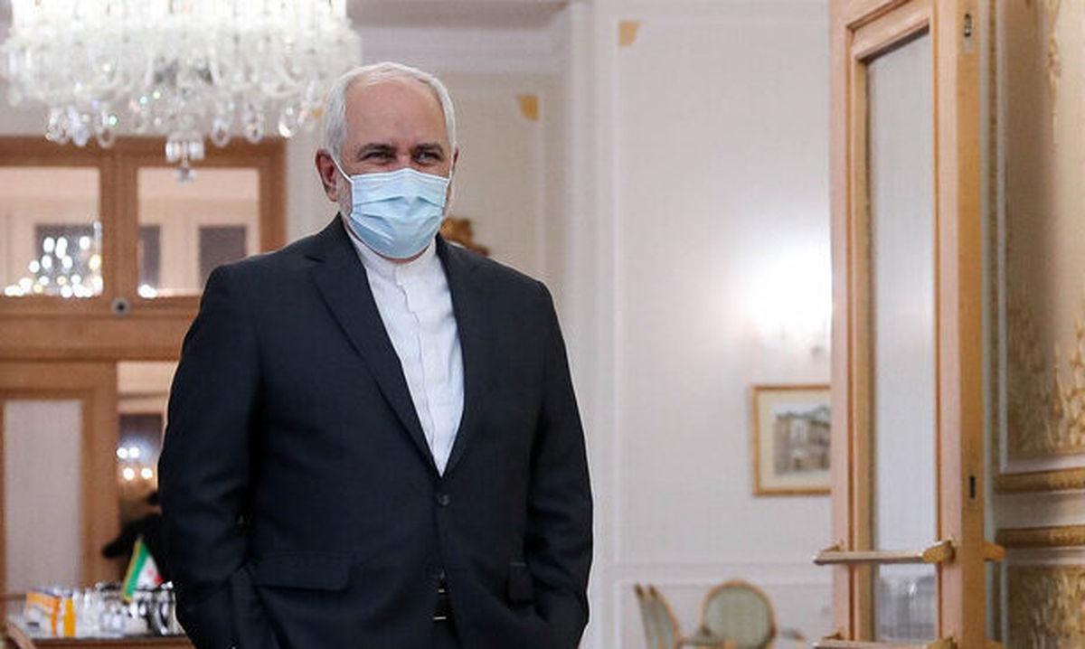 دیدار ظریف با رییس جمهور ترکمنستان