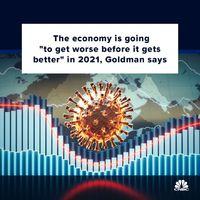 چشمانداز گلدمن ساکس از وضعیت اقتصاد آمریکا/ اوضاع اقتصاد پیش از بهبود در۲۰۲۱ وخیمتر میشود