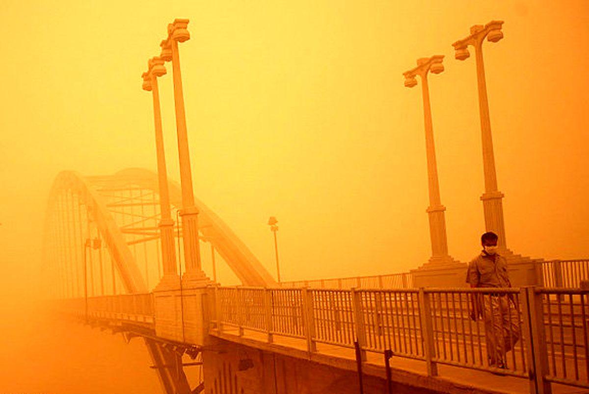 خشکی تالابهای اهواز گرد و غبار را تشدید میکند
