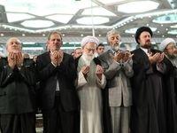 چهرههایی که در نماز عید فطر امسال حاضر شدند +عکس