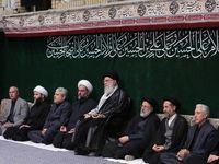 برگزاری مراسم عزاداری اربعین در حضور رهبر انقلاب