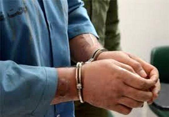 سارق زنانه پوش دستگیر شد