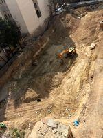 مدفون شدن چند نفر در پی ریزش ساختمان +فیلم
