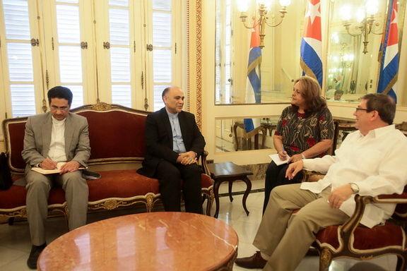 تاکید کوبا بر همبستگی با ایران در برابر اقدامات متجاوزانه آمریکا