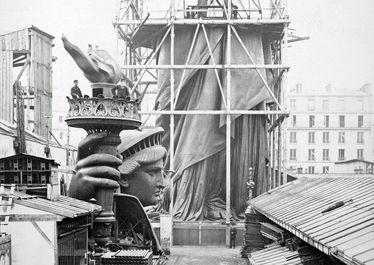 مجسمه آزادی از آغاز تا امروز