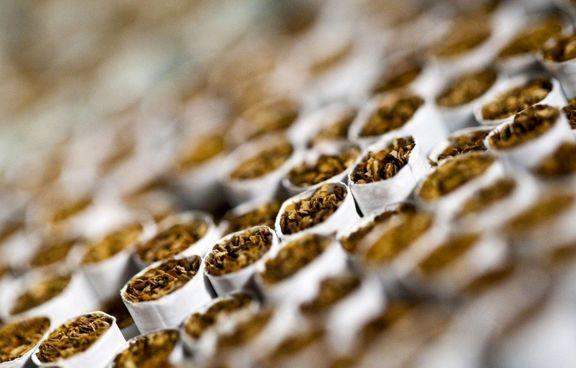 ایران 550 میلیون نخ سیگار صادر کرد