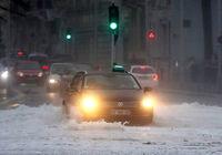 برف و طوفان زندگی مردم اروپا را مختل کرد +تصاویر