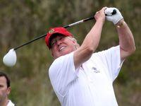 ترامپ نیمی از زمان ریاستجمهوری را در املاک خود گذراند