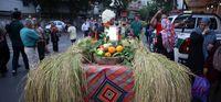 کارناوال فرا رسیدن سال نو تبری در ساری +تصاویر