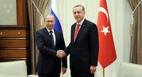 اردوغان به دیدار پوتین در روسیه رفت +عکس