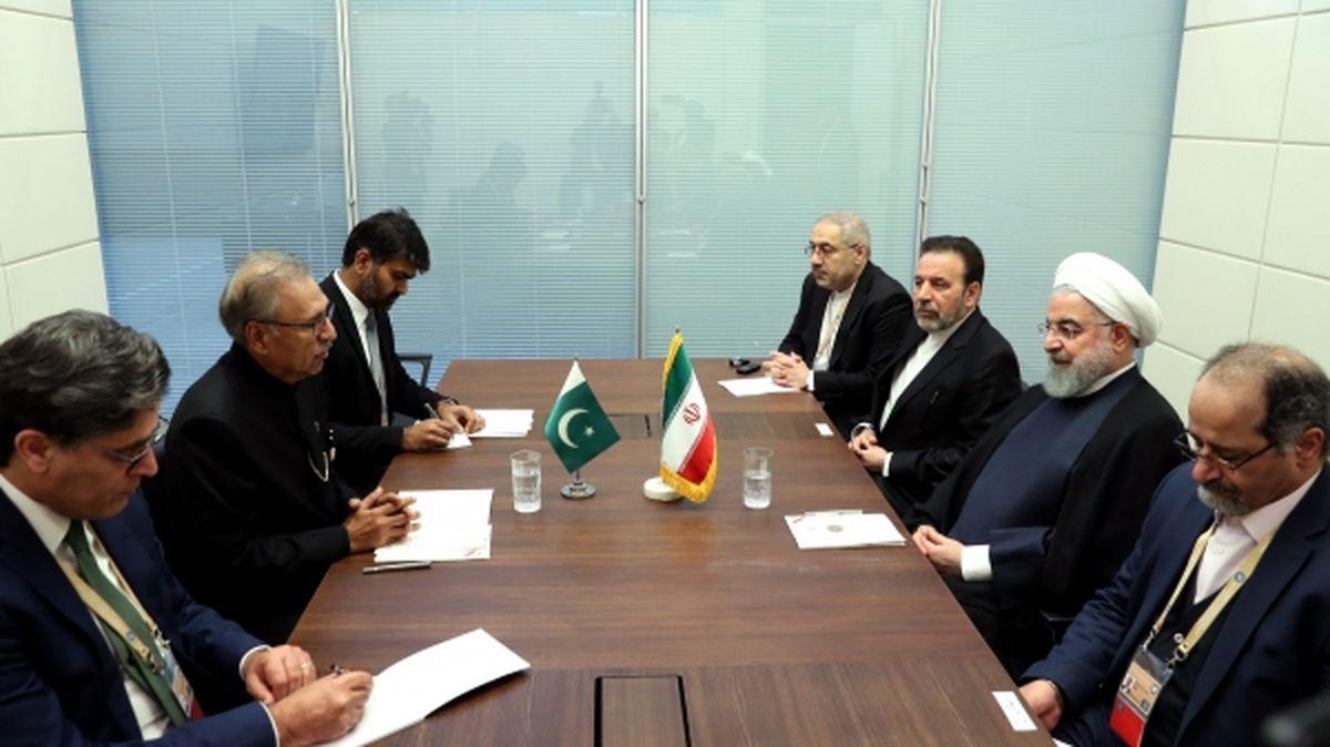 ایران و پاکستان برای توسعه همه جانبه روابط مصمم هستند