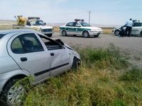 واژگونی خودرو تیبا در درگز قربانی گرفت