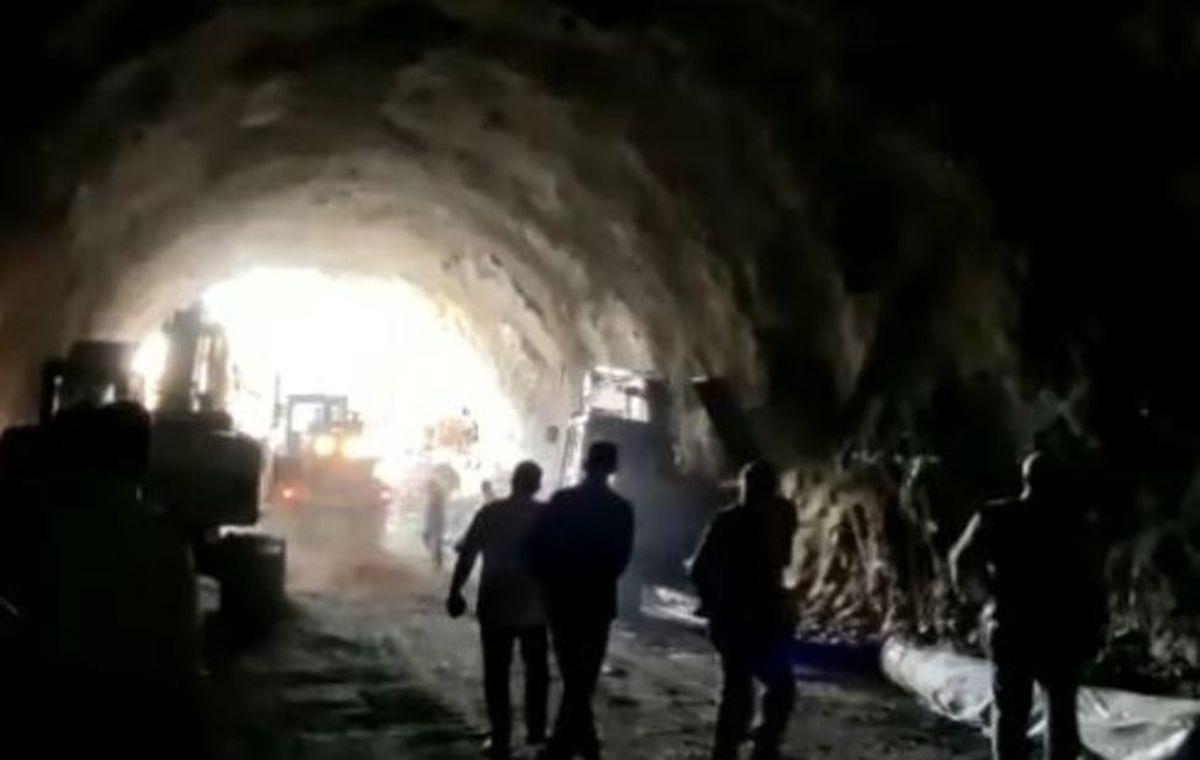 کشف اجساد جانباختگان حادثه ریزش سنگ تونل شهرستانک
