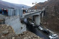 آخرین وضعیت آزادراه تهران- شمال،قطعه یک به زودی تکمیل میشود