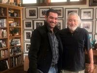 شهاب حسینی در کنار رابرت دنیرو +عکس