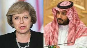 رایزنی ترزا می و ولیعهد عربستان درباره ایران