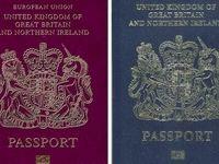 صدور گذرنامه جدید بریتانیا بدون واژگان اتحادیه اروپا
