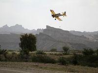 هواپیماهای سمپاش در جنوب به جنگ ملخها میروند