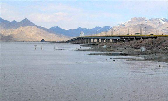 دریاچه نمک سیراب شد /ثبت کمترین رشد بارش در دریاچههای خزر و ارومیه