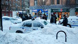 سرمای بیسابقه در نیویورک +فیلم