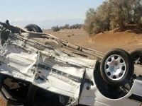 حادثهرانندگی ۲کشته و یک مجروح داشت
