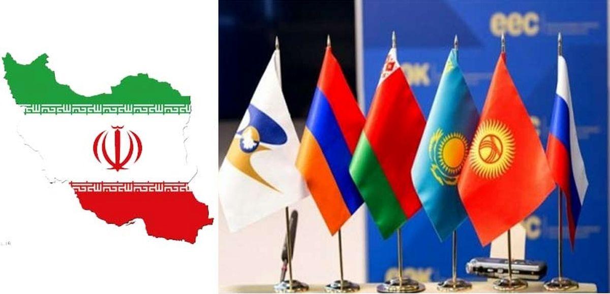 ارزش تجارت ایران با اتحادیه اوراسیا ۱۰درصد کاهش یافت