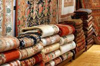 خودنمایی قالیهای میلیونی در بازار