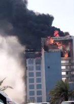 ساختمان دادستانی کل در «الدمام» عربستان آتش گرفت