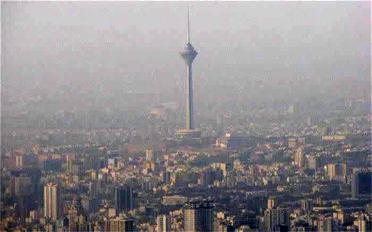 کیفیت هوای تهران برای گروه های حساس جامعه ناسالم است