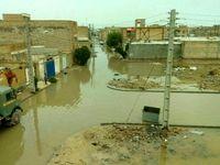 خرمشهر پس از باران دیشب +عکس