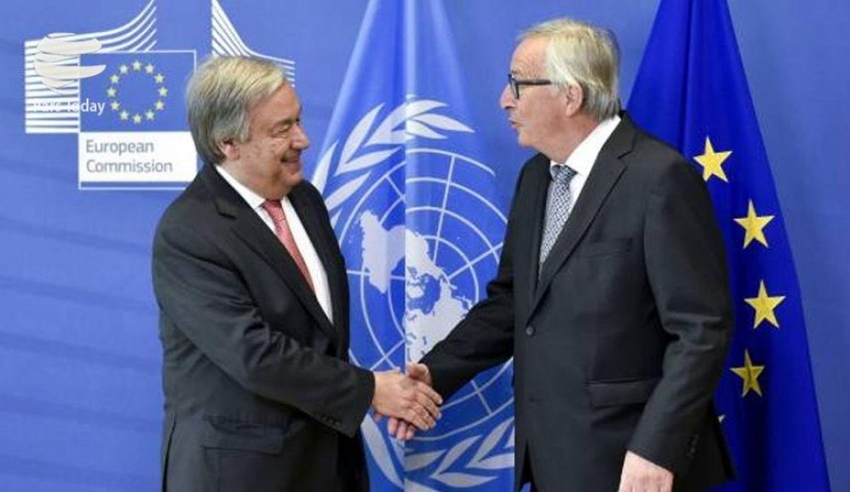 حمایت سازمان ملل از تلاش اتحادیه اروپا برای حفظ برجام