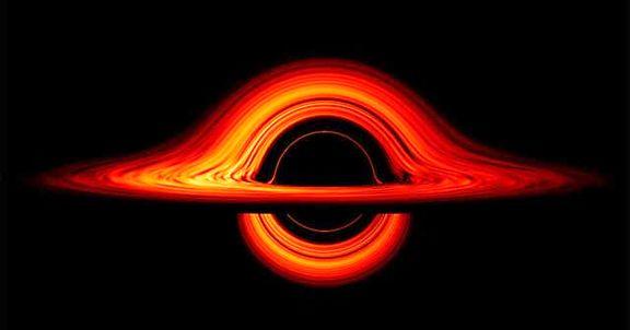 ناسا، سیاهچاله معروف را شبیهسازی کرد +عکس