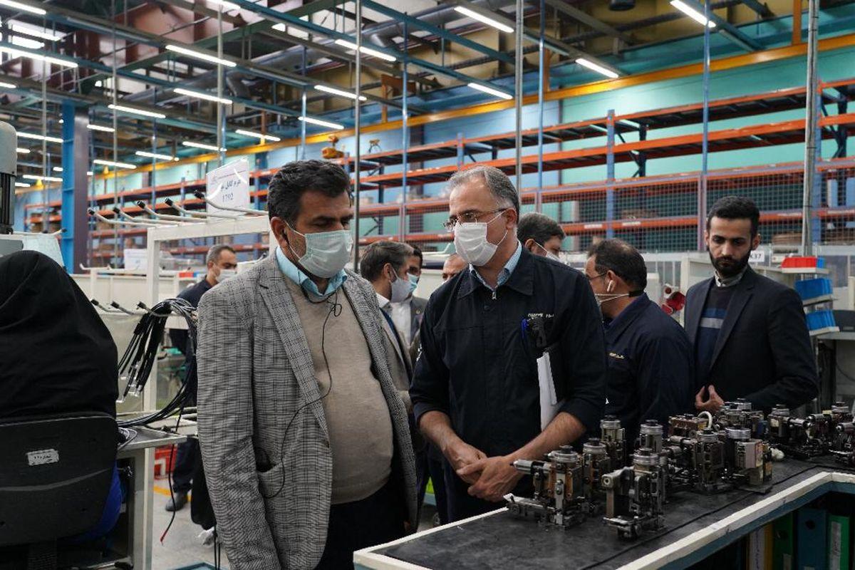اشتغال ۱۲هزار نفری در کروز الگوی خوبی برای سایر واحدهای تولیدی کشور