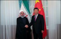 دیدارروحانی با رییسجمهور چین در حاشیه اجلاس شانگهای +عکس