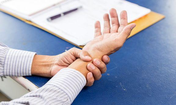 آشنایی با تاندونیت مچ دست