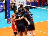 تیم ملی والیبال ایران مقابل لهستان به پیروزی رسید