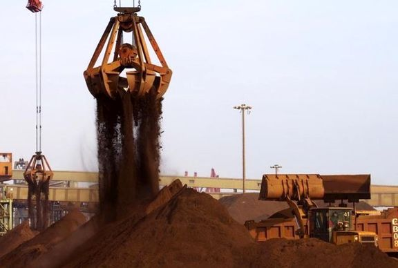 سنگ آهن ۱۸دلار گرانتر از قبل پیشبینی شد