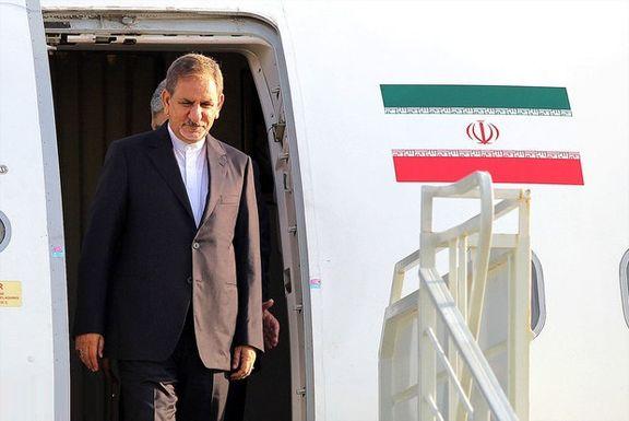 بارش برف مانع بازگشت جهانگیری به تهران شد
