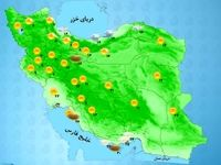 کاهش محسوس دما در استانهای شمال البرز