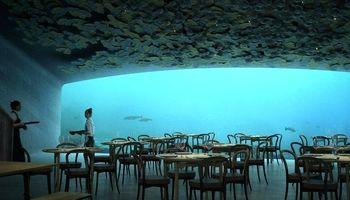 رستورانی در زیر آب که به آزمایشگاه تبدیل شده است +فیلم