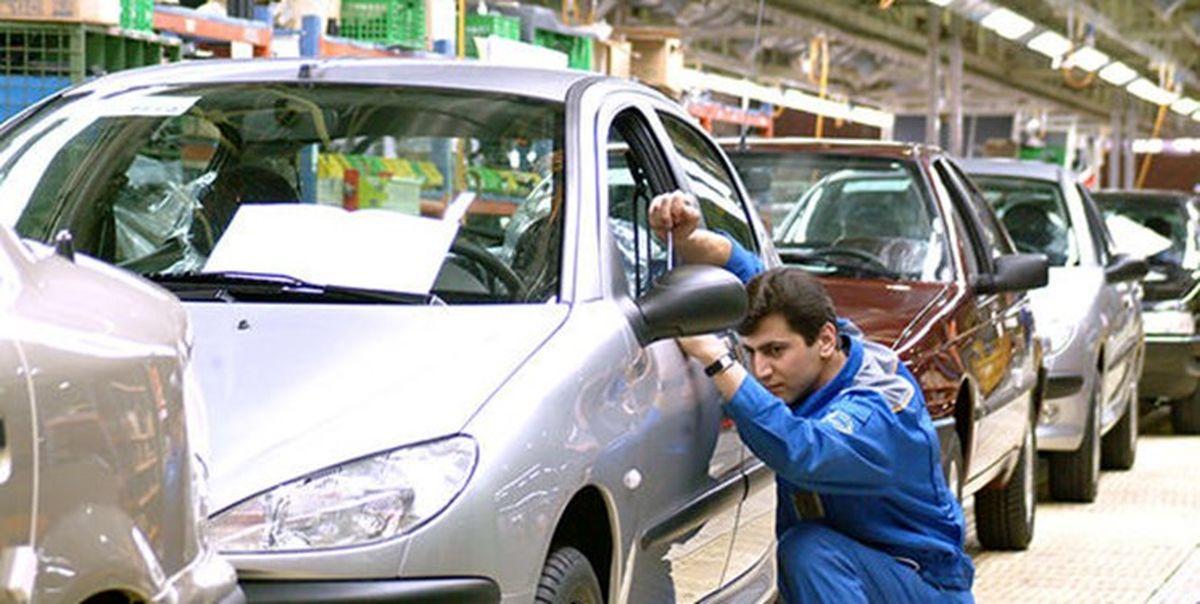 ۴.۳درصد؛ افزایش تولید خودرو