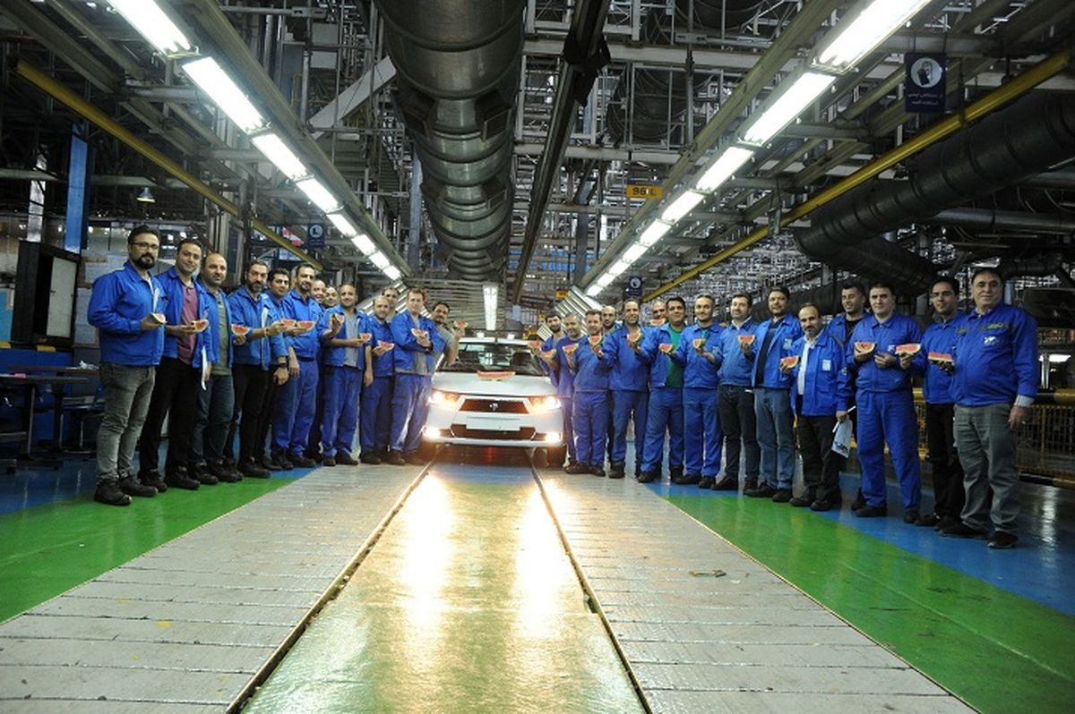 آخرین آمار تولید ایران خودرو اعلام شد