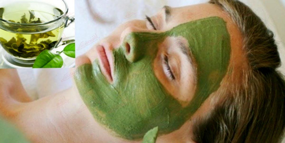 ۵ فایده ماسک صورت چای سبز و نحوه درست کردن آن
