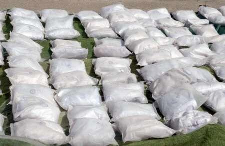 ۸.۶تن مواد مخدر در ارومیه کشف شد