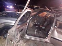 فوت راننده در تصادف شاخ به شاخ با تراکتور