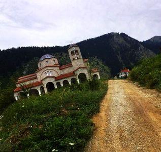 روستای عجیب در یونان +تصاویر