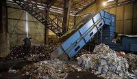 بازدید سفیر اتریش از مرکز بازیافت زباله کرمانشاه +عکس