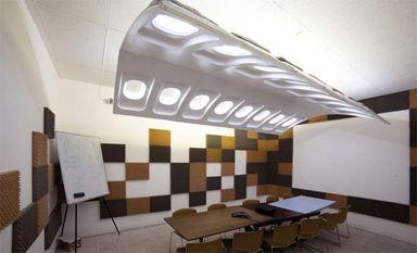 استفاده از قطعات هواپیما در دکوراسیون داخلی
